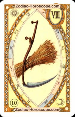 The scythe, monthly Love and Health horoscope January Libra