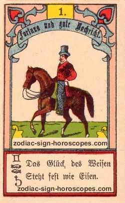 The rider, monthly Libra horoscope March