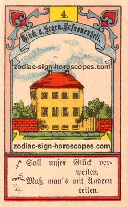 The house, monthly Libra horoscope January
