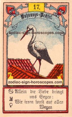 The stork, monthly Libra horoscope December