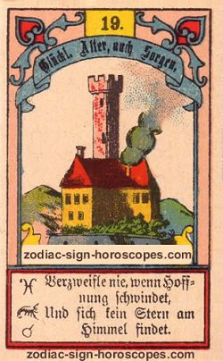 The tower, monthly Libra horoscope January